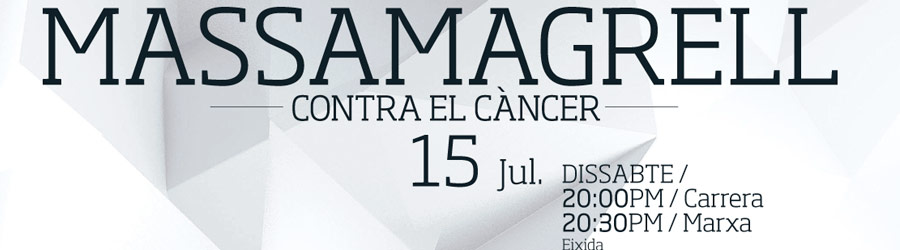 I Carrera Solidaria Massamagrell Contra el Cancer